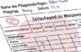 Formular zur Pflegedokumentation